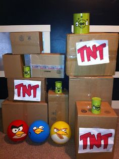 life-sized angry birds how to (Regan for your kids??