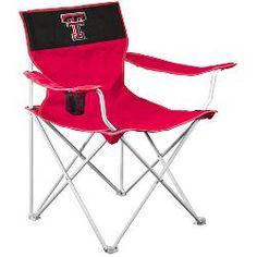 Logo Chair Texas Tech Red Raiders Canvas Chair