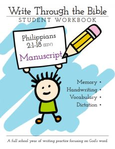 Write Through the Bible — Philippians 2:1-18 (ESV): Manuscript Edition - Intoxicated On Life   CurrClick