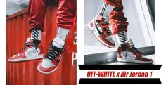 OFF-WHITE X AIR JORDAN 1   #offwhite #nike #airjordan #sneakers #hiphop #fashion #shoes #trends #2017