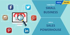 Turns your small business in to a powerhouse. An effective #Social_Media_Marketing strategy can help you to grow your #business and to reach your targeted audience. Social Media Marketing helps to interact and engage your customers and build your Brand. Digital Prologic create tailor made strategies for your services / products to reach your end customers. Come and Be Digital.. #Digitalprologic #SMM