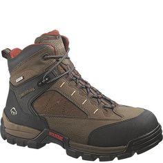 W02362 Wolverine Men's Amphibian Safety Boots - Brown