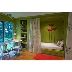 1000 images about knee wall beds and storage on pinterest for Bunk beds built into wall