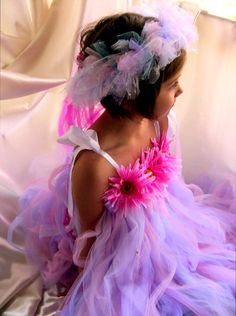 Easter fairy dress.  via Etsy.