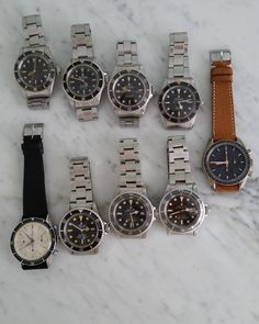 """""""Another very cool picture of some great watches. Omega Speedmaster, Vintage Rolex, Michael Kors Watch, Rolex Watches, Cool Pictures, Instagram Posts, Accessories, Watches Michael Kors, Jewelry Accessories"""