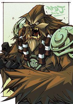 Wookie Warrior by Red J