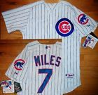 For Sale: *AUTHENTIC* Majestic CHICAGO CUBS Aaron Miles JERSEY Mens 44 mlb baseball shirt - See More At http://sprtz.us/CubsEBay