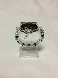 Twinkle Accessory Bracelet (Black Cat) from SWIMMER (A) - Lolita Desu