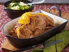 Weihnachtsessen mit Fleisch - feine Braten, Filet & Co. - ente-mit-pilzfuellung0  Rezept
