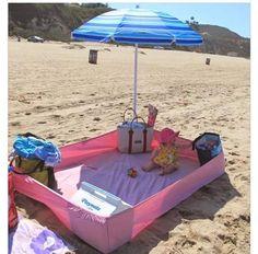 Sheet at the beach idea