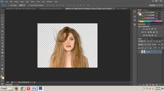 Cara Mudah dan Cepat Seleksi Rambut Dengan Photoshop
