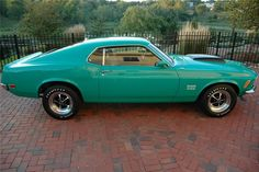 1970 Ford Boss 429 Mustang