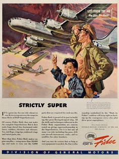 Armament by Fisker 40 s Print ad art by Dean Cornwell Let s fonish the job buy war bonds