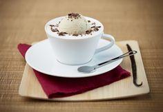 카라멜 밀크 프로스 아이스 바닐라 커피