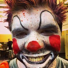 Hobo #clown #sfxmakeup #specialeffects #halloween #halloweenmakeup #fxmakeup #sfx #mua #makeupartist #specialfxmakeup #specialeffectsmakeup #Halloweenmakeup #specialfx  #unwoundFX #pinterest #ZOMBIES #zombieapocolypse #zombiewalk #zombieland #zombiemode #zombiegirl #zombieattack #zombiefied #zombiesurvival #undead #zombie #zombiemakeup #zombiemask #zombiemakeup #corpse #dead #death #creepy #scary #frightfest  http://instagram.com/unwoundfx Unwound FX: http://www.unwoundFX.com