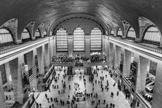 Grand Central Terminal - View of the Main Concourse from Above Huge Clock, Divine Revelation, Protection Spells, City Photography, Love Spells, Holy Spirit, Spelling, New York City, Prayers