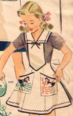 Girl Scout Aprons 1943 - 1944