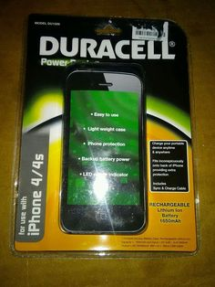 Duracell Power Bank Case For iPhone 4/4S Recharge Your Device on The GO!  #SUNYDEAL