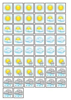 Tableau météo 3 - A imprimer