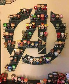 68 Ideas Pop Art Superhero Marvel The Avengers Hero Marvel, Marvel Avengers, Marvel Funny, Funko Pop Avengers, Marvel Logo, Funko Pop Display, Funko Pop Shelves, Avengers Room, Dorm Room Organization