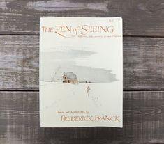 Vintage 1973 Zen of Seeing: Drawing / Meditation Book by refugium