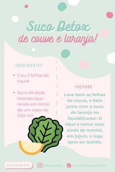 [#20 BEDA] Suco detox: Receitas que vão turbinar sua saúde! Food And Drink, Health Fitness, Healthy Recipes, Random, Shooter Recipes, Funny Fitness, Nutrition Tips, Food Items, Diet