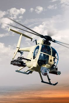 AH-6 light attack/reconnaissance helicopter (