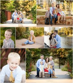 What to Wear to a Photo Session, Family Portrait Poses, Little Boy Family Session, Holiday Portrait Session — The Woodlands Family Photographer Holly Davis Photography