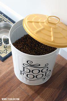 38 Best Metal Dog Food Storage Images