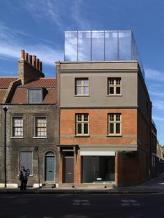 Victorian Building Reinvented and Extended by Threefold Architects
