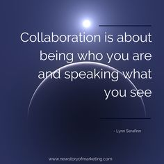 Collaboration requires trust, and trust requires a sense of ...