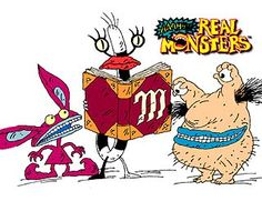 aaahh! real monsters was another very unique children's show in the 90's