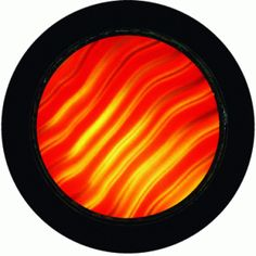Red Waves - RSG 33001 - Standard Glass Gobo