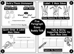 how to start writing a 5 Paragraph Essay