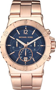 Michael Kors Damen-Armbanduhr Chronograph Quarz Edelstahl beschichtet MK5410: Amazon.de: Uhren ab 199,99 €