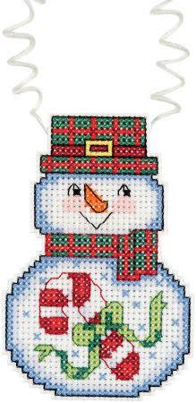 Cross Stitch Craze: Cross Stitch Snowman Kits Set of 5