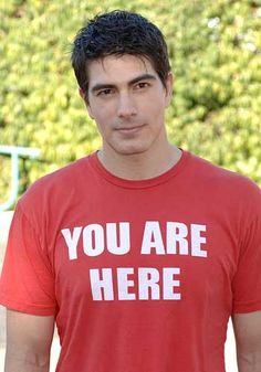 Brandon Routh--because I loved him in Zack and Miri, and I'm loving him in Partners. He's classy.