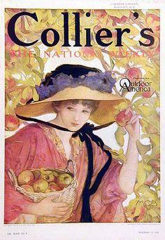 Collier's cover by Mary Greene Blumenschein, November 1911