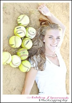Softball-- senior picture idea for me ?? i think YES.