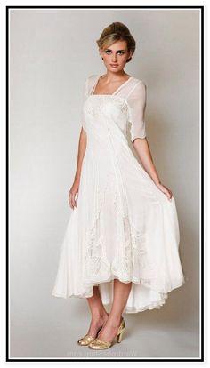 Image result for second wedding dresses for older brides 2nd Marriage Wedding  Dress f914f17d79a9