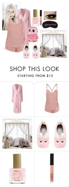 """""""Modern Disney Princess: Sleeping Beauty"""" by em-ro ❤ liked on Polyvore featuring Lands' End, Topshop, PBteen, ncLA, NARS Cosmetics and modern"""