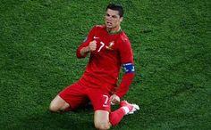 'UEFA EURO 2012 - Portugal v Netherlands- Cristiano Ronaldo'