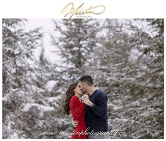 Outdoor Winter Engagement Session Ottawa - Ottawa Winter Engagement Photography - Ottawa Couple and Engagement Photographers - Winter Engagement Photos