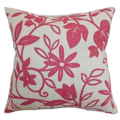 Gambela Floral Throw Pillow