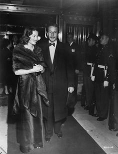 Gene & husband Oleg Cassini