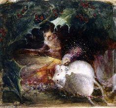La Fée de couchage de John Anster Fitzgerald (1819-1906, United Kingdom)