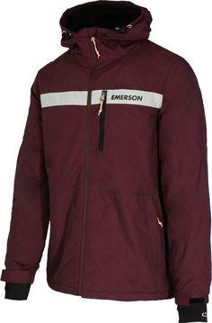 c2cc9106061e Βρες την καλύτερη τιμή για Emerson Casual Μπορντώ Μπουφάν Με Κουκούλα  182.EM10.33 από 19 καταστήματα στο Skroutz. 4 διαθέσιμα χρώματα για να  διαλέξεις!