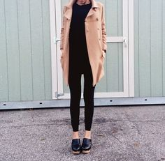 Minimal chic with clogs
