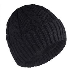 New Camptrace Winter Men Beanie Skull Caps Wool Knit and Cuffed Fleece  Lining Hat.   cc6d885a957b