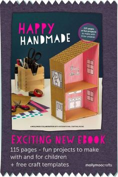 misako mimoko: Happy Handmade eBook - an exciting e-book for cool, crafty moms!